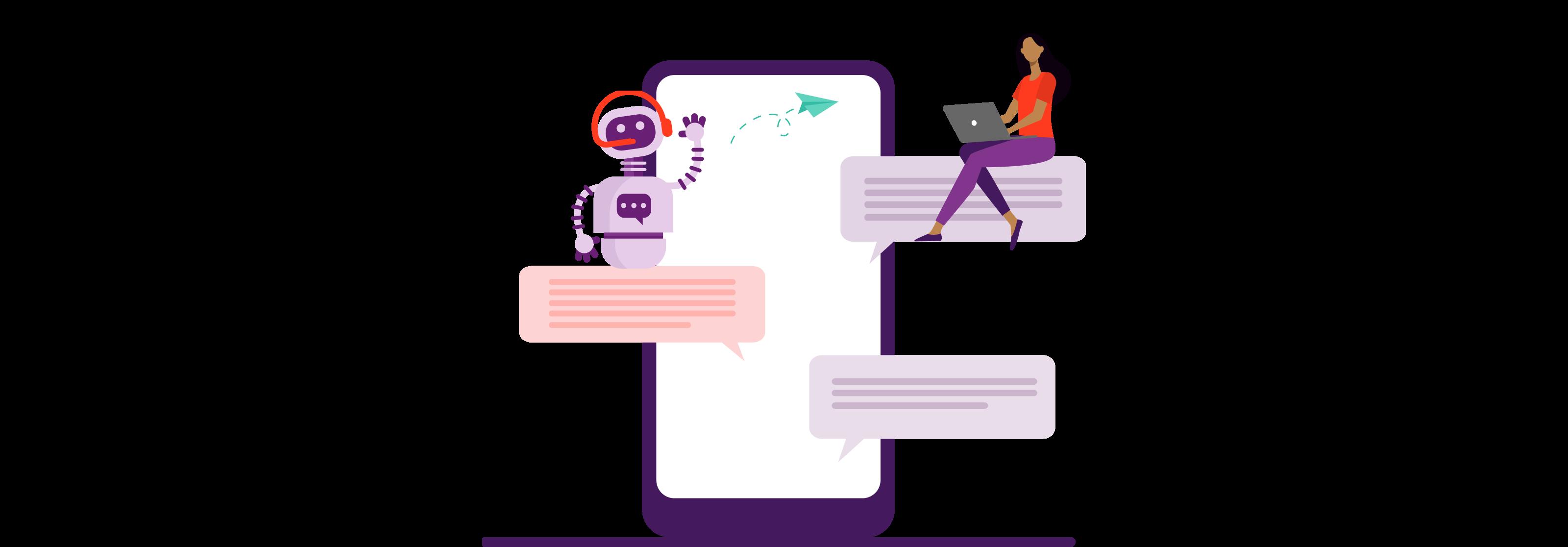 recruitment chatbot messaging